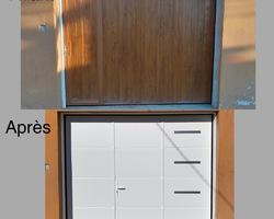 porte de garage - Fenêtres Mâconnaises - Mâcon